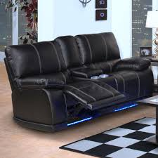 Recliner Sofa On Sale Reclining Sofa With Cup Holders Loveseat Console Foter