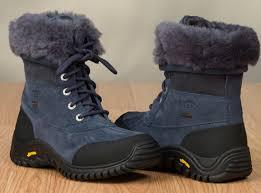 ugg australia womens black grey adirondack boots ugg s adirondack boots