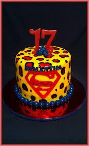 leopard print superman cake cakecentral com