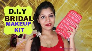 bridal makeup sets how to make bridal makeup kit superprincessjo