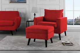 ottoman and accent chair alexa brush microfiber accent chair and storage ottoman sofamania com