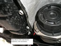 2012 toyota prius change filter retaining clip question toyota nation forum toyota