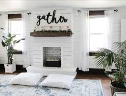 diy easy faux fireplace for our bedroom the definery co