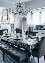 Mirror And Table For Foyer Best 25 Mirror Dining Table Ideas On Pinterest Modern Foyer