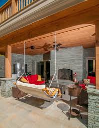 rustic porch with french doors by james sakellis zillow digs