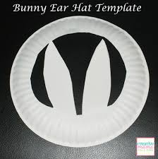 easter bunny hat easter hat templates happy easter 2017