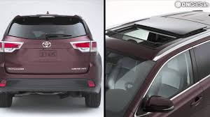 toyota india upcoming suv 2013 naias toyota unveils tough looking 2014 highlander suv