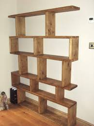 Woodworking Plans Free Standing Shelves by Free Standing Bookshelves Keeping Your Book Collections In Style