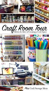 Storage Ideas For Craft Room - craft room tour a look inside my creative work space 100