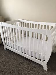 Fixed Side Convertible Crib Storkcraft Monza Ii Fixed Side Convertible Crib Baby In