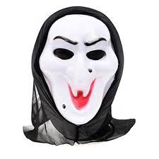 ghost face bleeding costume mask scream mens scary horror