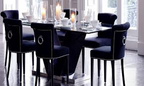navy dining room chairs home design photos