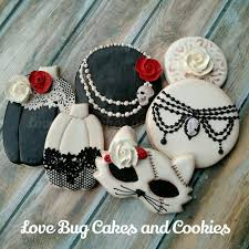 Decorated Halloween Sugar Cookies by Gothic Glam Halloween Cookies Love Bug Cookies Cookies