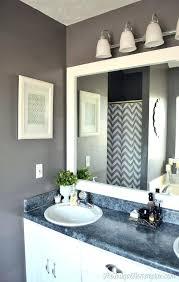 Bathroom Mirror Frame Kit Mirror For Bathroom For How To Select A Bathroom Mirror Ideas 37