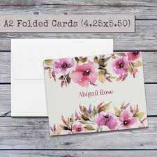 personalized notecards 9 best personalized stationery sets images on