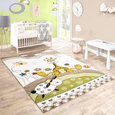 chambre la girafe tapis pour enfants chambre d enfant contours découpés bébé girafe