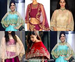 cape designs top 5 blouse sleeve designs for indian brides south india