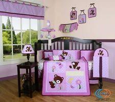 Honey Bear Crib Bedding by Synthetic Nursery Bedding Ebay