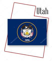 Utah State Map Utah State Map And Flag U2014 Stock Vector Bigalbaloo 59580537