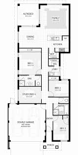 narrow cottage plans block homes plans fresh 2 storey house plans for narrow blocks perth