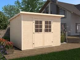 gartenhaus design flachdach flachdach gartenhäuser modern und praktisch weka holzbau gmbh