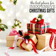 places to shop for inexpensive gifts 10 ideas you will
