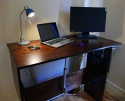 Sit To Stand Desk Automatic Sit Stand Desk 14 Steps With Pictures