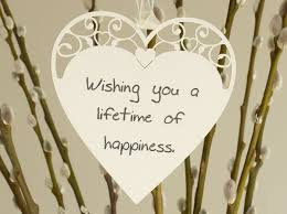 wedding quotes happy wishing you a lifetime of happiness wedding quote