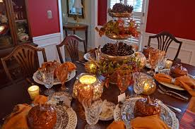 decorating a dining room table for thanksgiving dining room tables