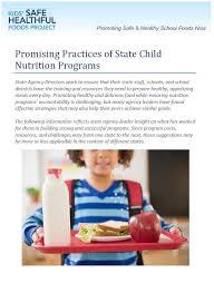 food healthy schools campaign