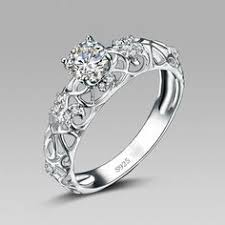 cheap sterling silver engagement rings great silver engagement rings engagement rings depot