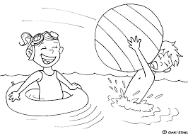 beach coloring pages preschool 5 seconds of summer colouring pages preschool summer coloring pages