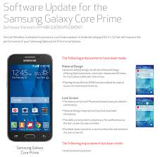 prime android samsung updates verizon s galaxy prime from android 4 4 all
