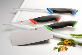 coloured kitchen knives coloured handles for extra safety in the kitchen