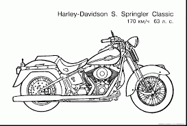fabulous harley motorcycle coloring pages with free coloring pages