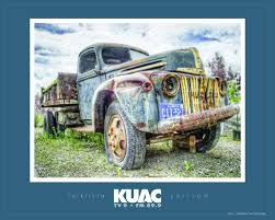 Classic Ford Truck Information - kuac u0027s 30th poster features payer u0027s u0027ford dump truck u0027 uaf news