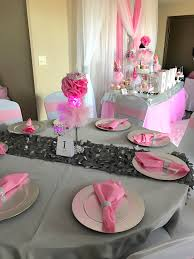 pink u0026 silver princess baby shower 3 11 2017 my party queen