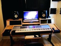 desk home studio desk design plans how to build a home recording