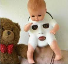 Scary Baby Doll Halloween Costume 25 Scary Halloween Masks Ideas Scary