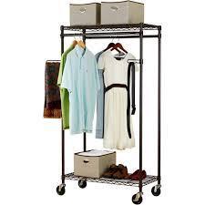 canopy heavy duty garment rack bronze walmart com