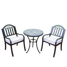 Cast Iron Bistro Table And Chairs Cast Iron Bistro Sets Patio Dining Furniture The Home Depot