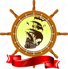 Nautical Theme by Vintage Label With A Nautical Theme Vector And Illustration