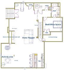 Basement Remodeling Floor Plans 22 Best Basement Finishing University Images On Pinterest