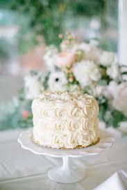 one tier rosette wedding cake elizabeth anne designs the