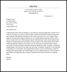 tech support manager cover letter