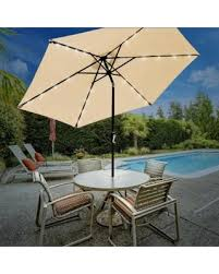 10 Foot Patio Umbrella Sale Sorbus Solar Led Outdoor Umbrella 10 Ft Patio Umbrella
