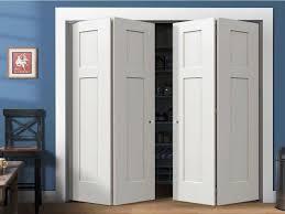 Wood Closet Doors Best Folding Closet Doors Three Dimensions Lab