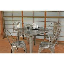 dining table gunmetal by thos baker
