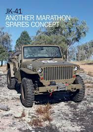 jeep concept 2017 engine and body reconstruction marathon spare parts