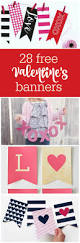 freebie friday 28 free valentine u0027s printable banners the party